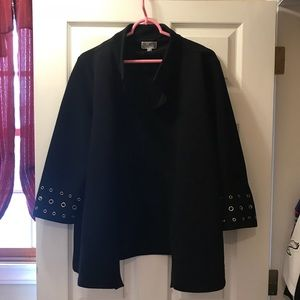Woman's Black Blazer